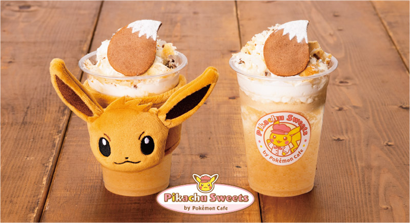 Pikachu Sweets is an EV-themed frappe coming to Pokemon Cafe