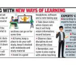 Pune News begins at the college house with virtual lectures, downloaded books & notes