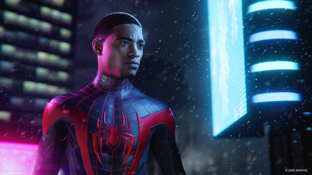 Spider-Man: Miles Morals Ultimate Edition takes up to at least 105GB on the PS5