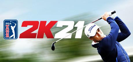 PGA Tour 2K21 logo