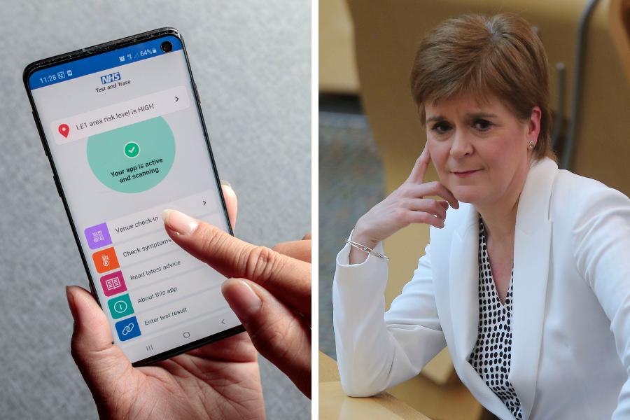 Unionists download England's Kovid-19 tracing app despite Holyrood