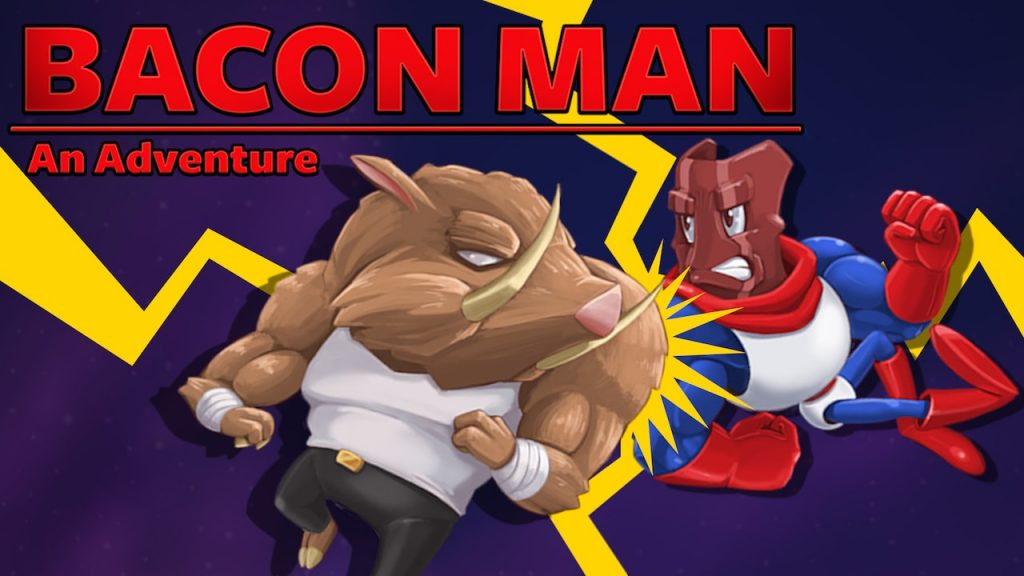 Bacon Man: The adventure now available on the Nintendo Switch