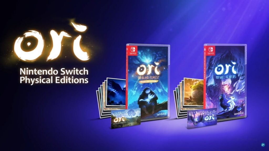 The physical editions of the Ori series are coming to Nintendo Switch on December 2020