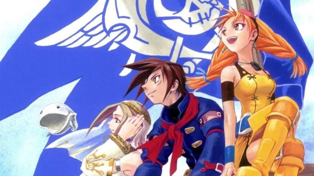 Skies of Arcadia is based on the Dev remaster or sequel Sega