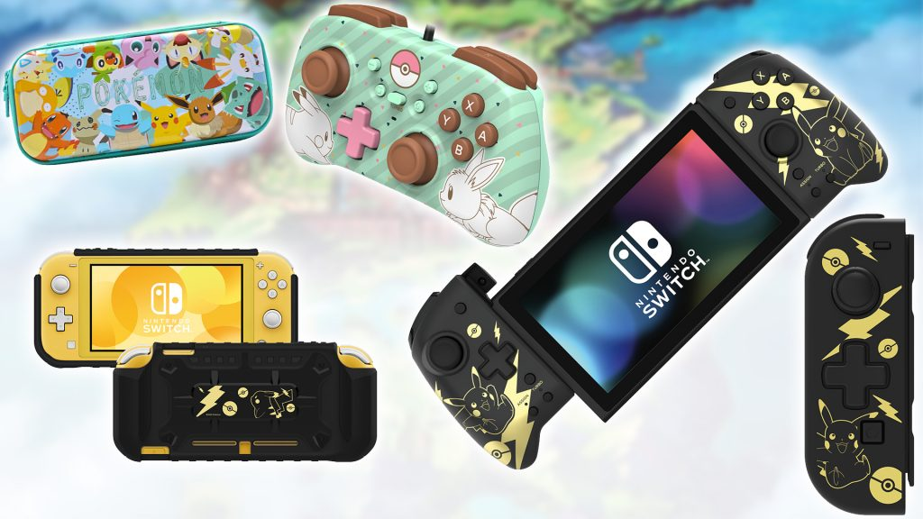 Hori is the Pokemon accessories release suite from next month