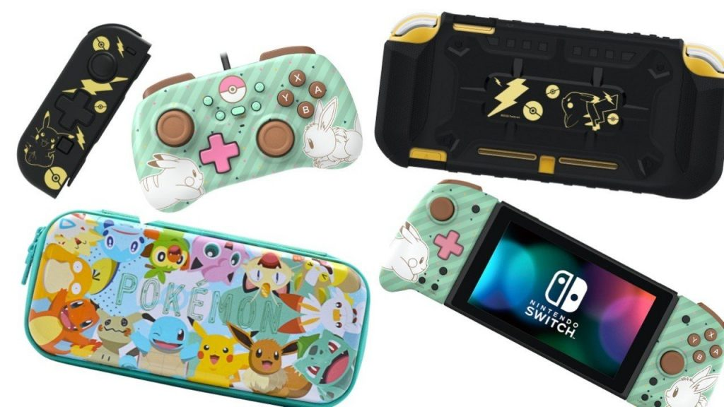 Hori reveals a huge wave of Pokemon controllers and accessories for the Nintendo Switch