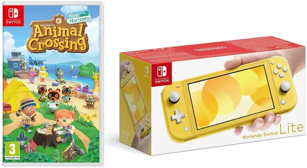 Animal Crossing Nintendo Switch Light Bundle