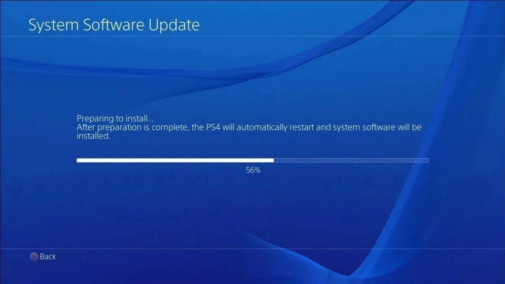 The PS4 firmware update 8.00 is available for download today