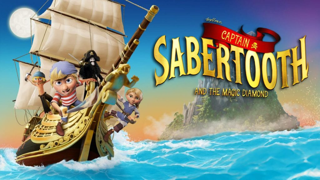 Captain Sabertooth and the Magic Diamond sail for the Nintendo Switch