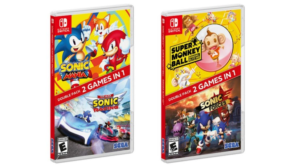 Sega's Sonic Double Packs on the Nintendo Switch are now out of stock