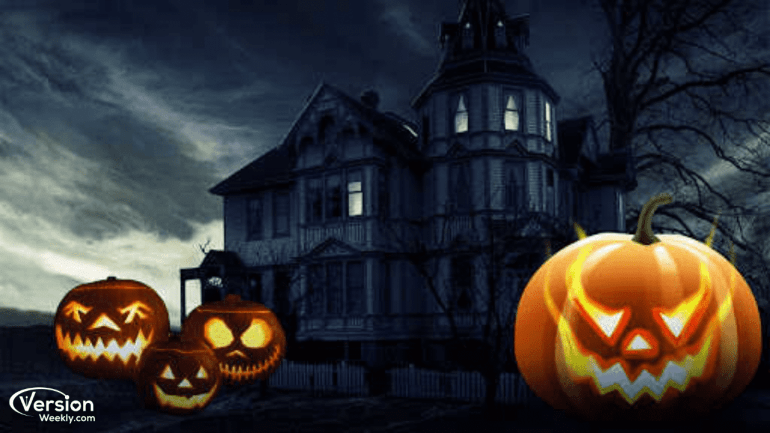 Happy All Hallows Eve Background