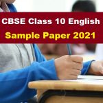 CBSE CAS 10 English Board Exam 2021