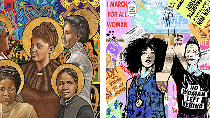 Celebrate the centenary of women's suffrage by downloading this art - NBC Los Angeles