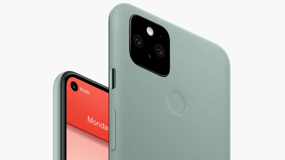 Save Google Pixel 5 front and back promo image