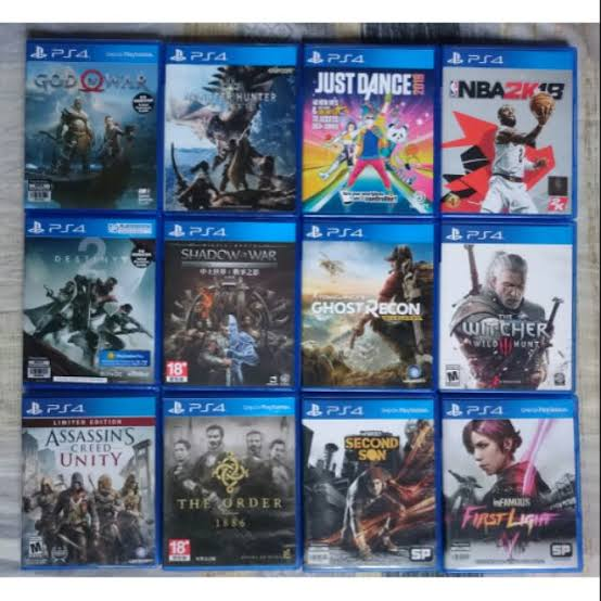 Play and download PS4 exciting games 2020!