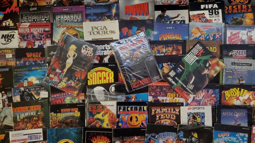 The project tries to put every single Super Nintendo instruction manual on the web