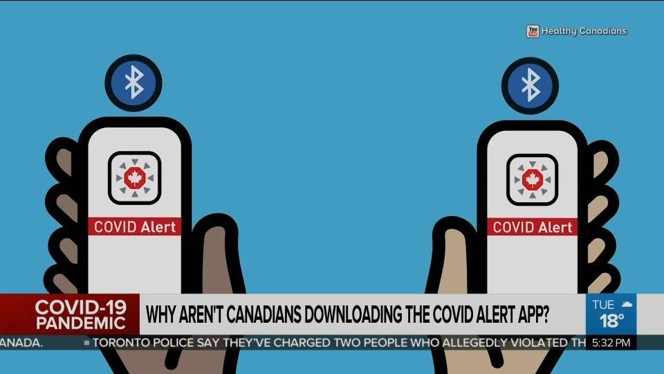Why haven't Canadians downloaded the COVID Alert app? - Video