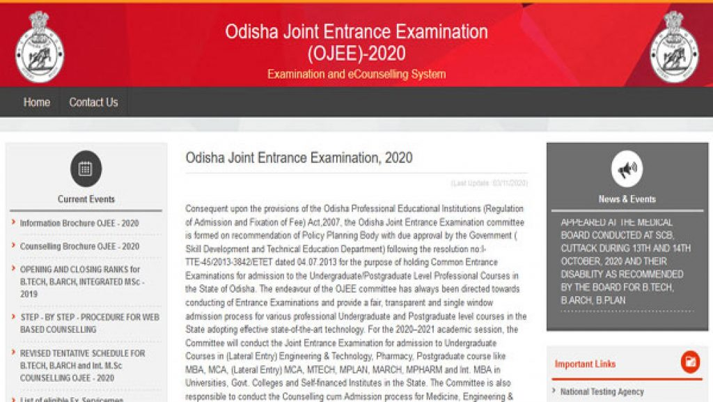 OJEE 2020 Round 1 Consultation Results 2020 Download Direct link