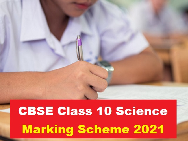 CBSE Class 10 Science Marking Scheme for Sample Paper 2021