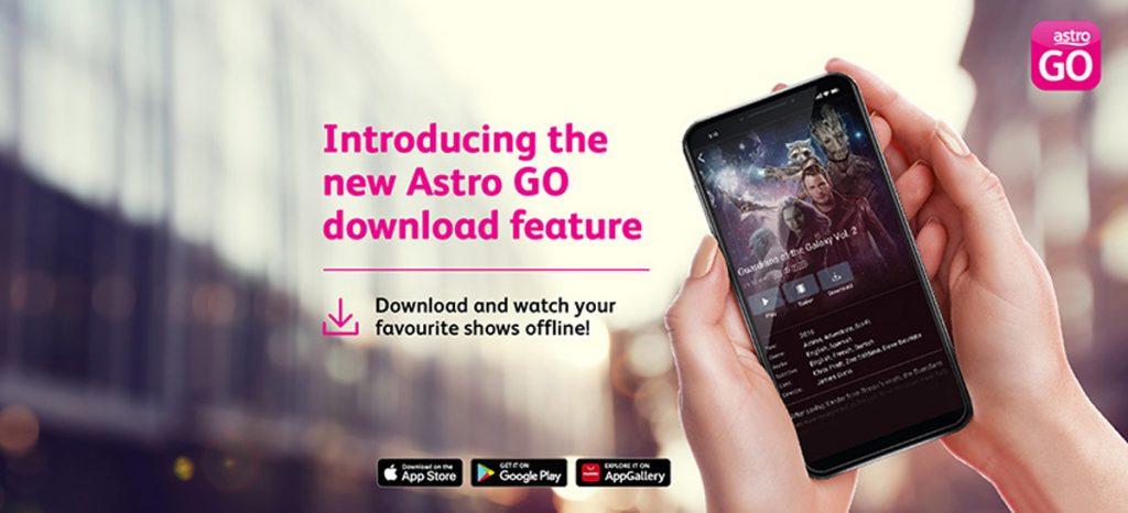 Astro Go Download Feature