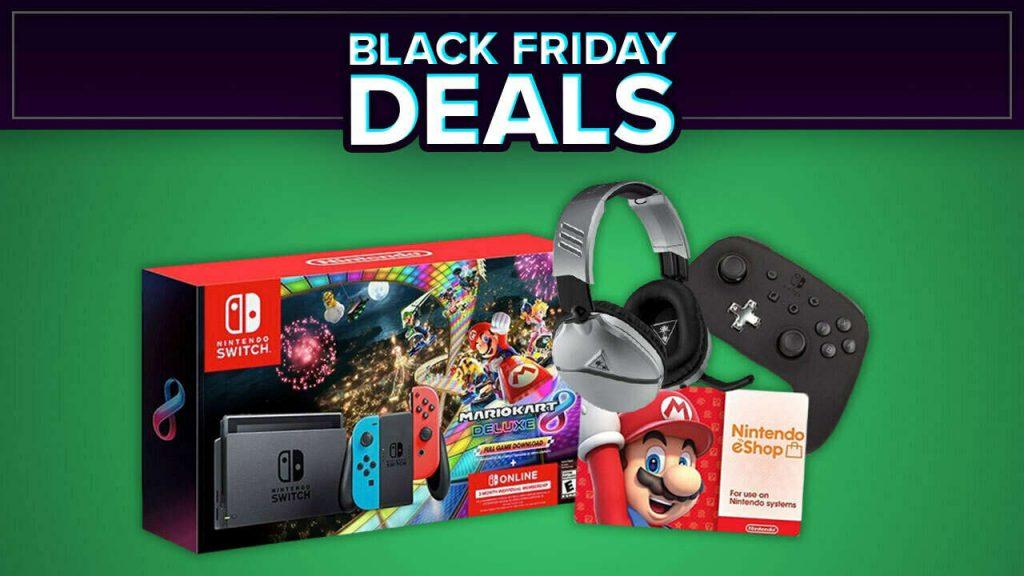 Black Friday Deal: Nintendo Switch Mario Kard Bundle at Walmart, Best Buy on November 22nd