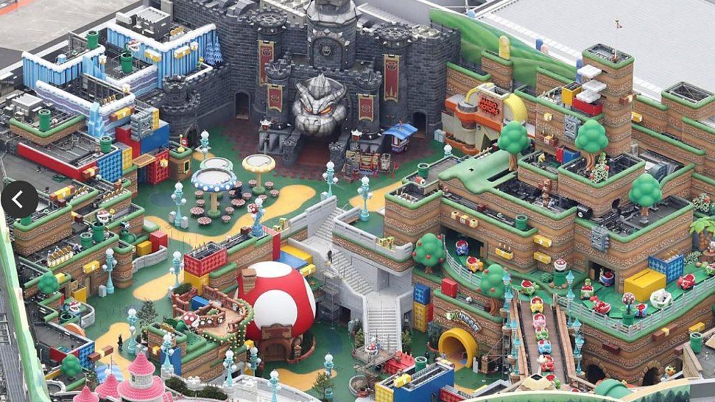 Nintendo's theme park is fantastic