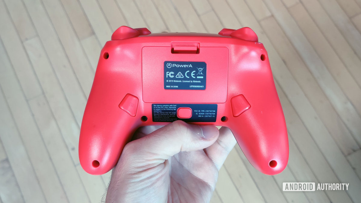 Switch back to the PowerA enhanced wireless controller for Nintendo