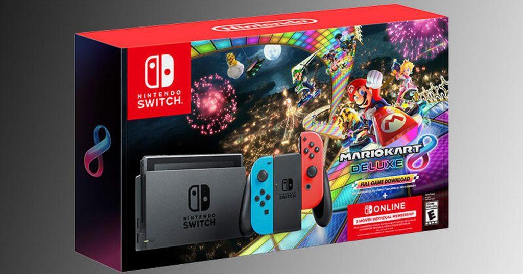 Nintendo Switch Mario Kart Black Silver Bundle Hit Walmart Today: See Best Buy and Restart on Amazon.