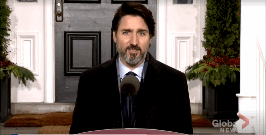 Justin Trudeau urges Canadian youth to download COVID warning