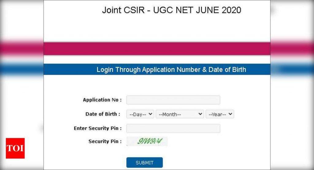 CSIR UGC Net Admit Card 2020 Released, Download Here