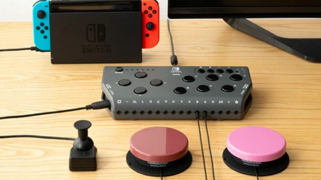 Hori releases the access controller for the Nintendo Switch