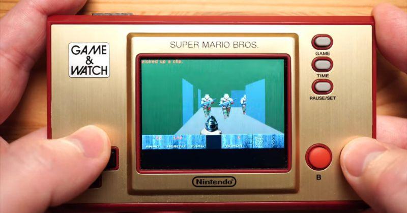 Unable to run Nintendo's Cam & Watch Doom