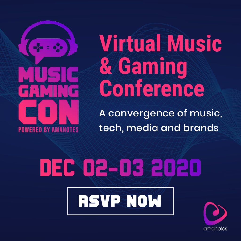 Music Gaming Con: Virtual Music and Gaming Conference