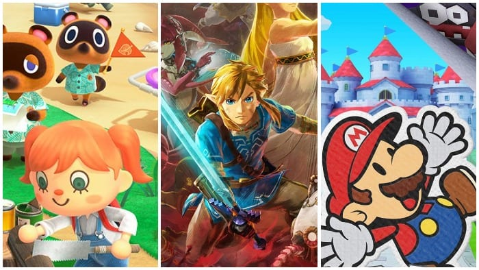 Let's rank the big Nintendo Switch games of 2020
