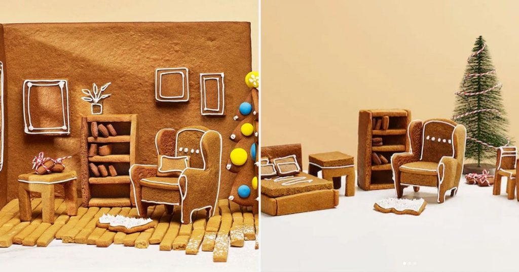 How To Download Free IKEA Furniture Gingerbread Stencils