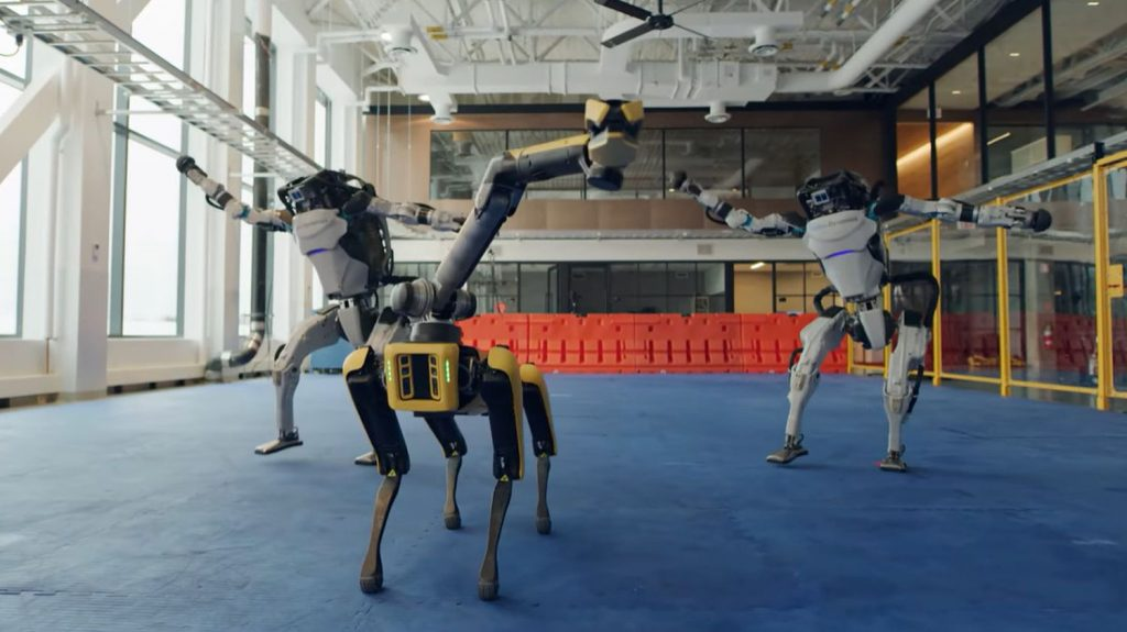 Boston Dynamics' robots now dancing to 1960's hits