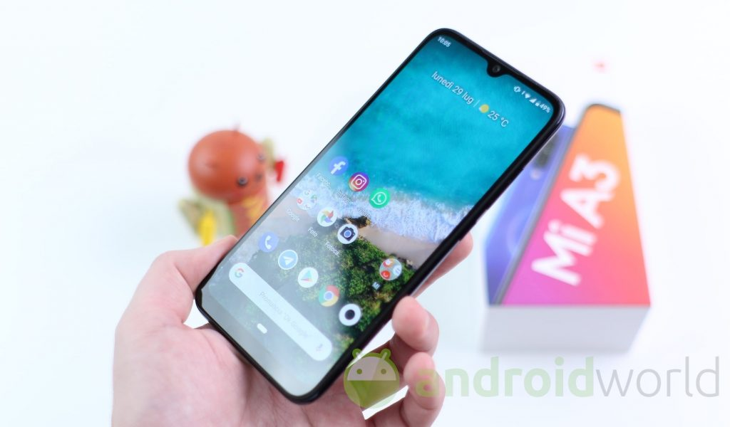 Android 11 is coming to Xiaomi Mi A3 in Italy, now updated to avoid serious issues (photo) (updated)