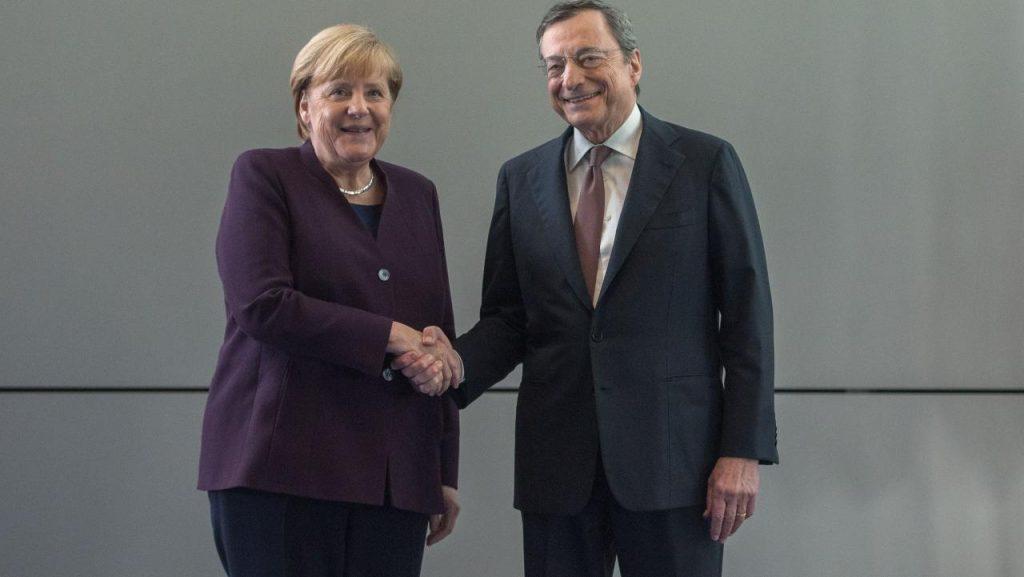 Berlusconi Mario Draghi Premier