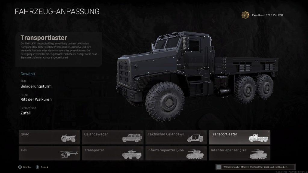 Call of Duty: Warson - Newer LKW Clich