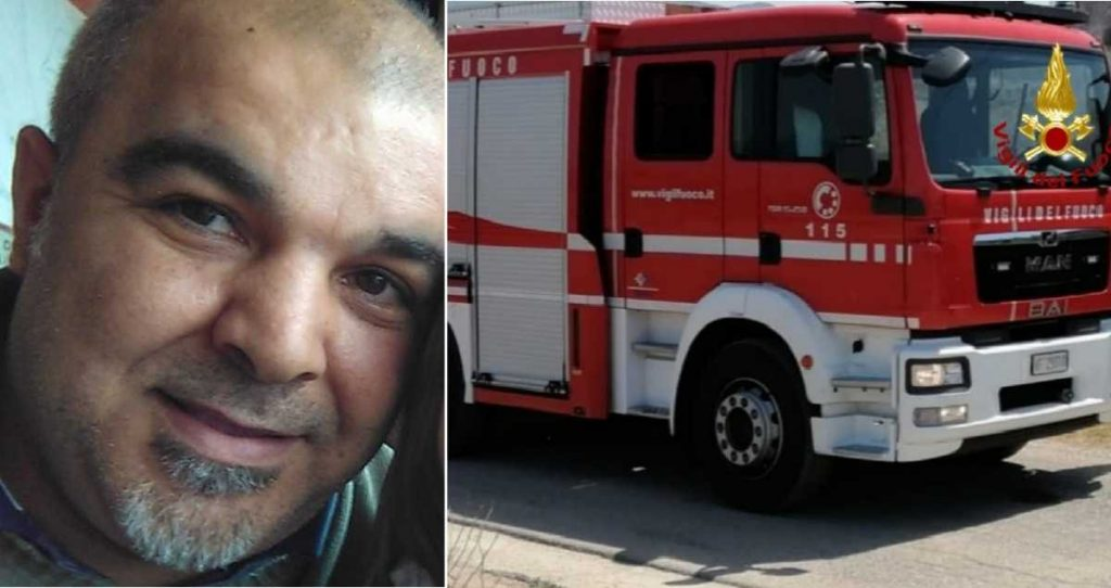 Bad weather in Sardinia, firefighter with electric shock: he dies while working