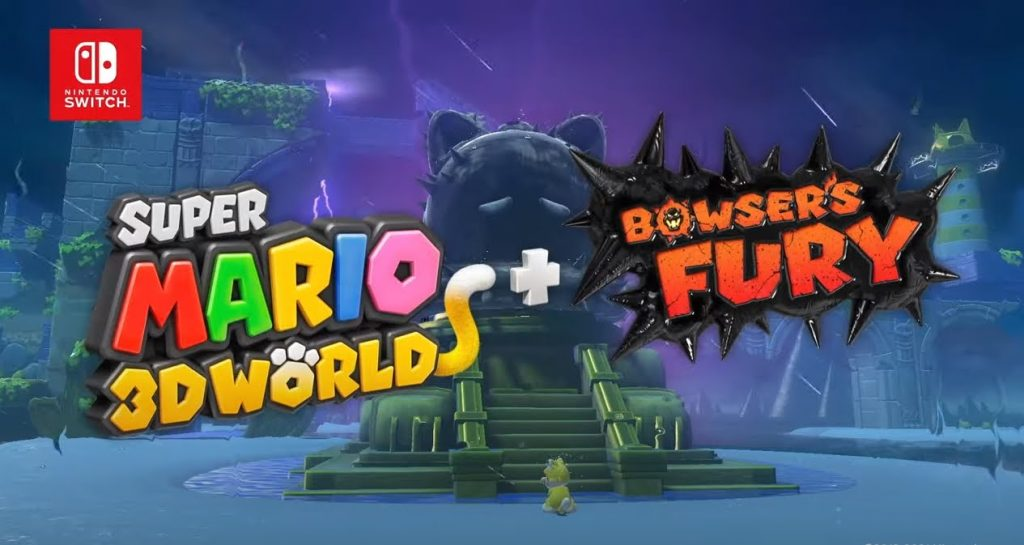 Super Mario 3D World: Bowser's Fury and Nintendo Switch special edition Mario's new trailer (red and blue)