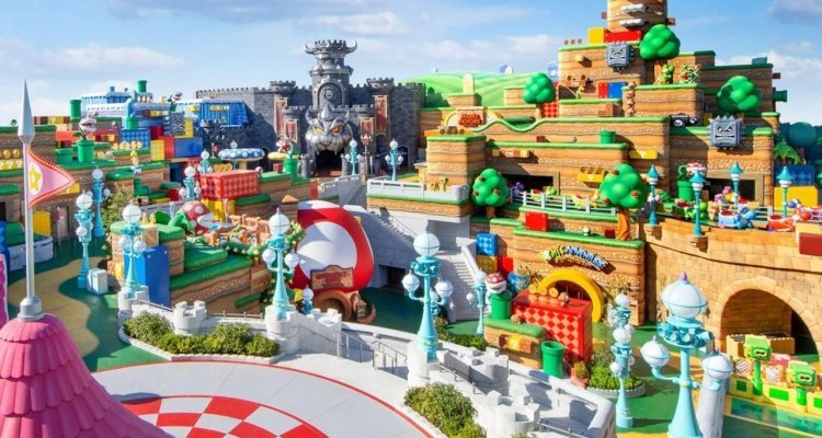 Opening of Nintendo theme park in Osaka delayed again by COVID