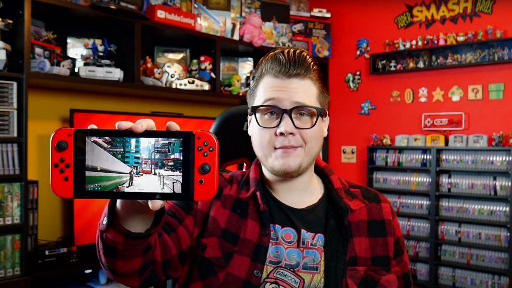 A YouTuber runs it on the Nintendo Switch!