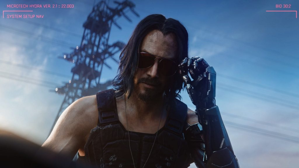 Cyberpunk 2077, but how does V sleep? Reveals the protagonist's position in a mod bed