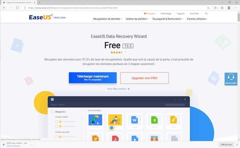 EaseUS Data Recovery Guide: Recover up to 97.3% of deleted data