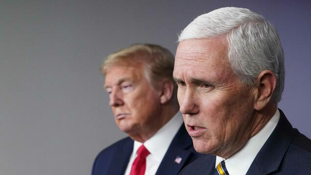 First conversation after Capitol storm: Trump's vice Mike Pence sticks with his boss - Politics