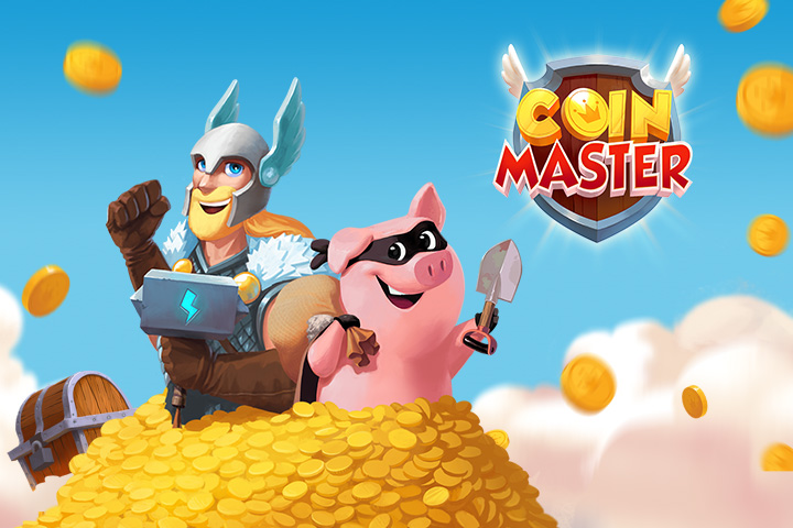 January 9, 2021 Coin Master Free Loops and Coins - Breakflip