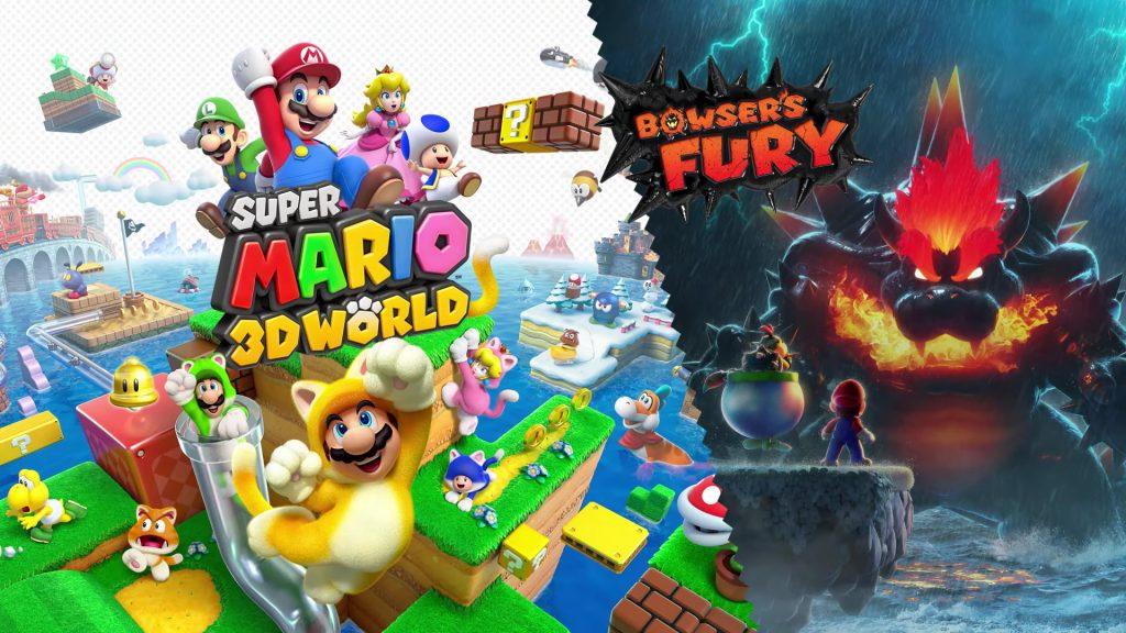 Mario 3D World + Bowser's Anger: Preview To Zur Nintendo Switch - Break Flip