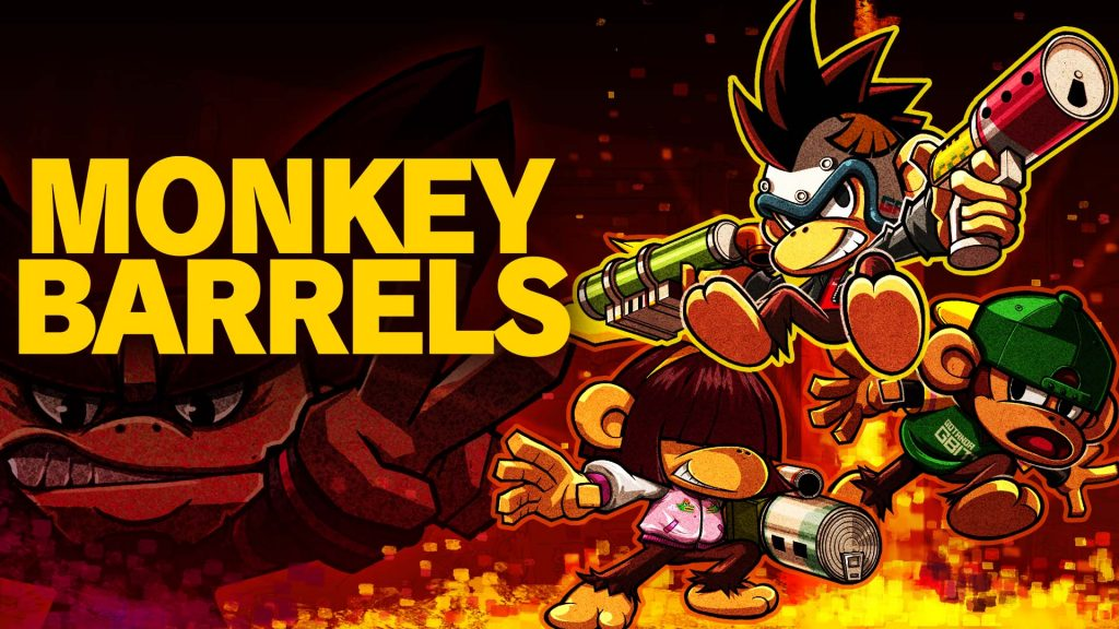 Monkey Barrels - appear in the epic game store