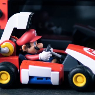 Mario Kart Live Home Circuit: We turned the editorial staff into a race track